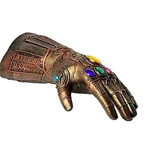 Marvel Avengers 3 Infinity War Cosplay Gauntlet Gloves Thanos Latex Glove for Halloween Costume