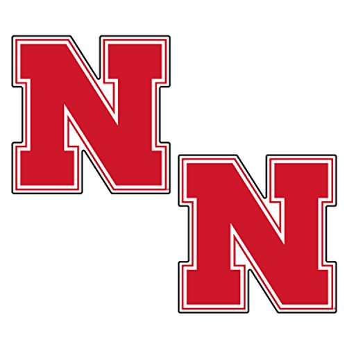 Huskers Decal - Nebraska Decal RED N HUSKERS 2-PACK DECAL 2