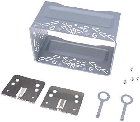 車 ステレオ オーディオ ISO 2 Din インストール メタル ケージマウント ブラケット セット