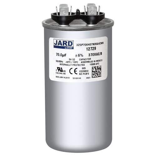 70 uf MFD 370 VAC ROUND Capacitor 12729 Replaces C370 C370R 97F9012 97F9012BX