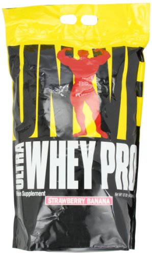 Banana Whey Pro - Universal Nutrition Ultra Whey Pro, Strawberry Banana, 10-Pounds