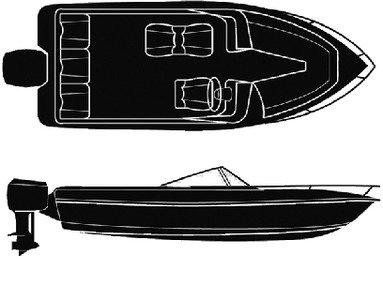 (POLYESTER, V-HULL Outboard, 18'-91I)