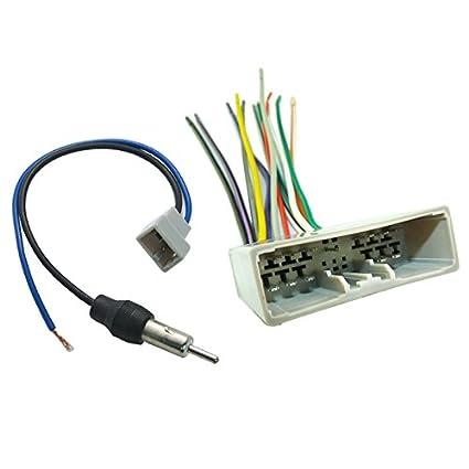Astounding Amazon Com Feeldo Car Radio Audio Stereo Wire Harness Antenna Wiring Digital Resources Funapmognl
