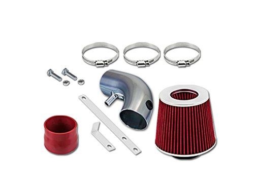 Ram Mini Short Intake - 01 02 03 Chrysler Voyager Lx Mini 3.3l V6 Short Ram Intake Sr-dg18 with Red Filter1