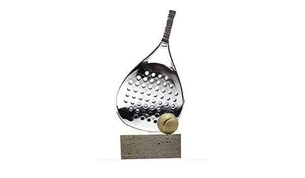 Trofesport Trofeo Padel de Resina y Marmol 45 cm Grabado ...