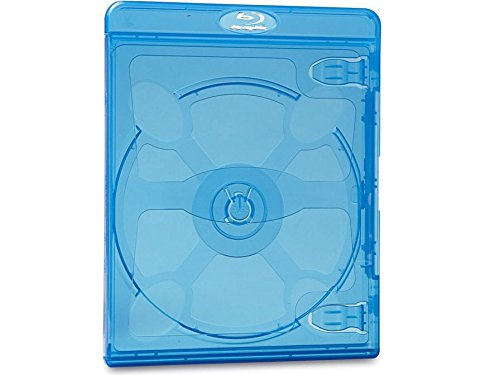 Verbatim Blu-Ray DVD Cases Bulk, Blue, 25-Pack  97970
