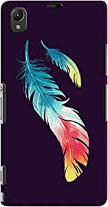 DailyObjects Feather In Colors Case For Sony Xperia Z1