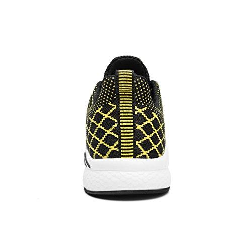 Gym Hommes Flarut Sneakers Baskets Entraînement Athlétiques De Jaune Running Chaussures D'air Dames Sport Adulte Fitness Marche Cheerleading Basses Coussin wwPqpgrE