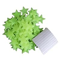 Dr Clever ™ Glow in the Dark Stars 100 Pack | Glow Stickers | Wall Stickers | Ceiling Stickers | Room Decals | Wall Decoration