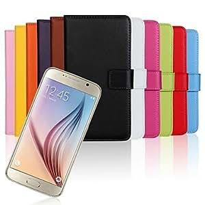 Teléfono Móvil Samsung - Carcasas de Cuerpo Completo/Fundas con Soporte - Color Sólido/Diseño Especial - para Samsung Samsung Galaxy S6 ( , Brown