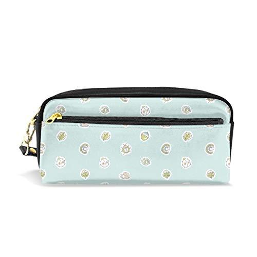 Naran Network Bug Dots Rev Blue Travel Cosmetic BagSet Fashion Women's Jewelry Portable Zipper Wallet