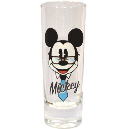 DISNEY EXECUTIVE MICKEY MOUSE SHOT GLASS