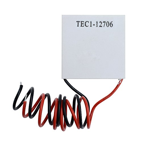 Aideepen 5pcs TEC1-12706 12V 6A Heatsink Thermoelectric Cooler Cooling Peltier Plate Module 40x40MM by Aideepen (Image #1)