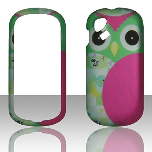 2D Night Bird Alcatel Sparq OT-606a T-Mobile/ Alcatel OT-606 One Touch Chat Case Cover Phone Snap on Cover Cases Protector Rubberized Frosted Matte Surface Hard Shells