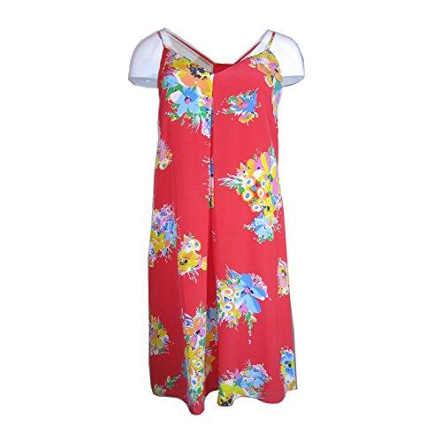 Silk Racerback Dress - Polo Ralph Lauren Floral Silk Racerback Dress, Size-6