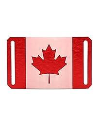 Grip6 Canadian Flag Buckle