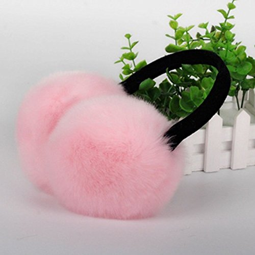 Rabbit Winter Earmuffs Warm Imited Men Heat Rose Unisex Xyq 1411 Earplugs UtxwqBgU