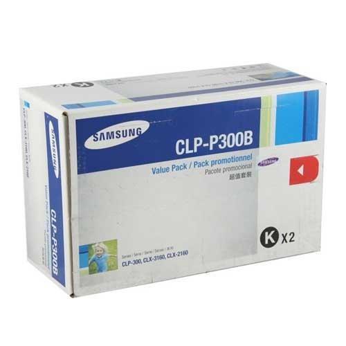 Clp P300b Laser Toner (Samsung© CLP-P300B Genuine OEM Toner Cartridges (CLPP300B) - Black, 2000 Yield)