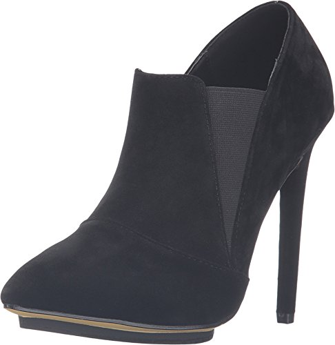 Michael Antonio Womens Jurlee Suede Pointed Toe Ankle Boot