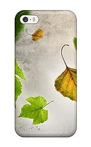 Hot Design Premium NuyXuNv8526OgPoj Tpu Case Cover Iphone 5/5s Protection Case(autumn September Sky)