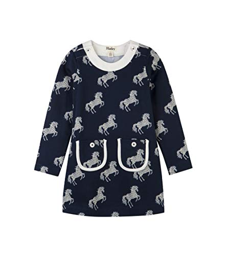 - Hatley Girls' Little Mod Dresses, Horse Silhouettes 3 Years