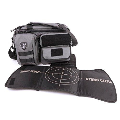 Tactical Baby Gear Deuce 2 0 Tactical Diaper Bag With Changing Mat  Grey