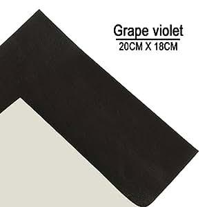 Oveja violeta de uva parche de reparación de piel & vinilo ...