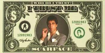 Scarface I Trust Me toalla de playa