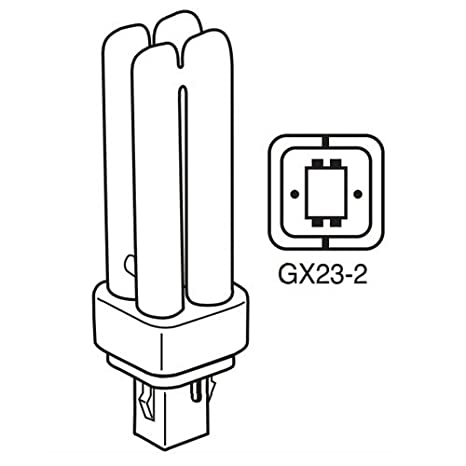 Pack Of 10 Pld 13w Gx23 2 865 13 Watt Double U Shaped Tube 2 Pin