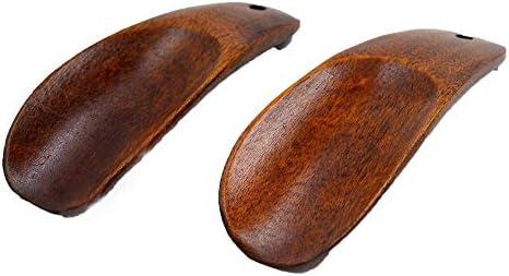 シューホーン コンフォートグリップで靴を脱ぐ着用する男性と女性の木製の靴ポータブル簡単に適し 速い靴と良い感じ (色 : Multi-colored, Size : 9cm)