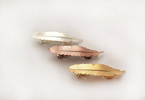 Small Feather Barette (HC13B) by Avigail Adam Jewelry