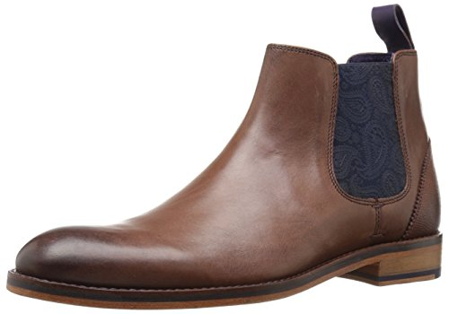 Ted Baker Men's Camroon 4 Chelsea Boot, Brown, 14 M US