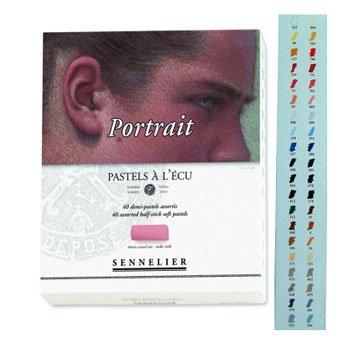 Sennelier 40 Half Pastel Boxed Set, Portrait Colors, Half Sticks