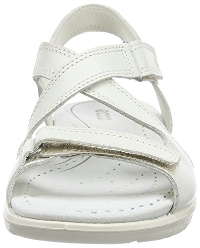 ECCO Footwear Womens Babett Cross Sandal Dress Sandal, Shadow White, 41 EU/10-10.5 M US Photo #5