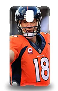 Anti Scratch And Shatterproof NFL Denver Broncos Peyton Manning #18 Phone 3D PC Case For Galaxy Note 3 High Quality Tpu 3D PC Case ( Custom Picture iPhone 6, iPhone 6 PLUS, iPhone 5, iPhone 5S, iPhone 5C, iPhone 4, iPhone 4S,Galaxy S6,Galaxy S5,Galaxy S4,Galaxy S3,Note 3,iPad Mini-Mini 2,iPad Air )