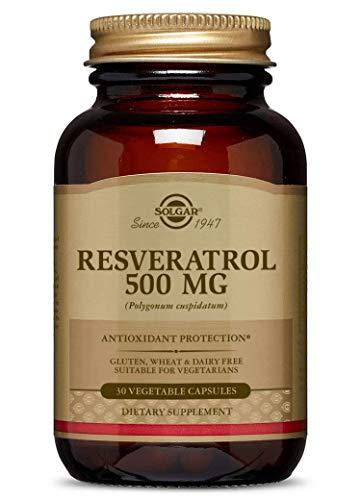 Solgar - Resveratrol 500 mg, 30 Vegetable Capsules