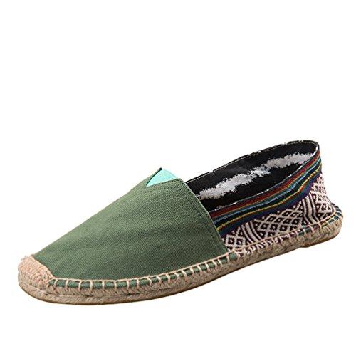 Immagine1 Slip Come Scarpe Unita Espadrillas Moda Casuale Dooxii Loafers Durevole Uomo Tinta Flats Unisex Donna Basse On Zq7aF