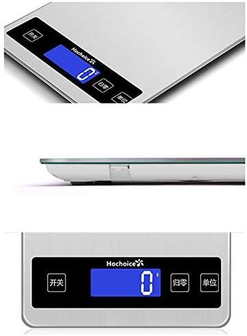 YSDHE Bilancia da Cucina Piccola/Bilancia pesapersone Impermeabile ad Alta precisione/pesapersone Ricaricabile/Impermeabile (Size : 10kg)