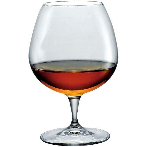 (Bormioli Rocco Premium Cognac Glasses, Clear, Set of 6)
