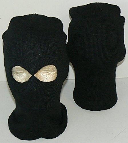 ylic Balaclava Ski Mask Hat Cap Lid 2-holes (Acrylic Ski Mask)