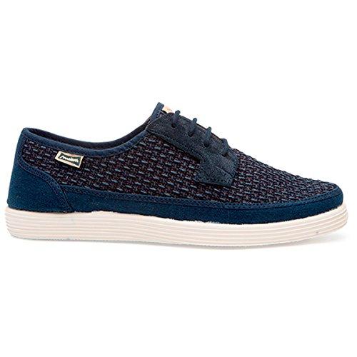 Maians Prodotto Moda Spagna Casual Artesanel Sneaker Scamosciata Cotone Fatto Scarpe E Uomo navy In Blue Per Pelle AAxFqRSrw