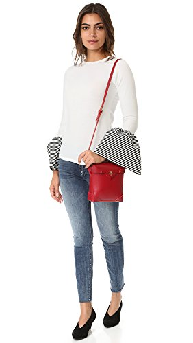 Bag Red Women's Mini Pristine Box MANU Atelier 7XYqwAA