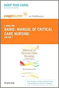 critical care nursing 7th edition pdf