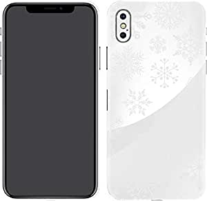 Switch iPhone X Skin Snowflakes White