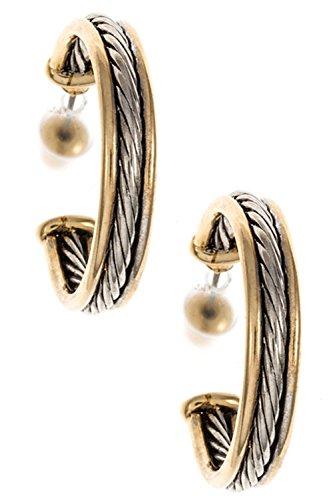 Karmas Canvas Combined Metal Rope (Erickson Beamon Chandelier Earrings)