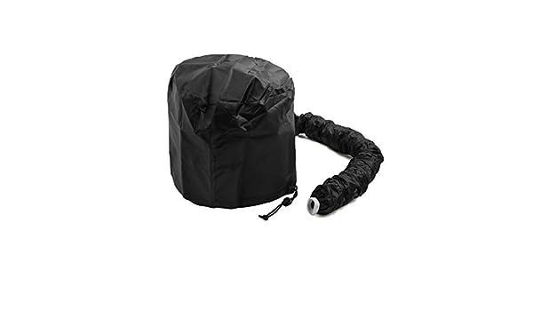 Amazon.com: DealMux Preto Poliéster portátil Secagem Hair Styling macio Bonnet capa sopro Cap Ligação Secador: Health & Personal Care