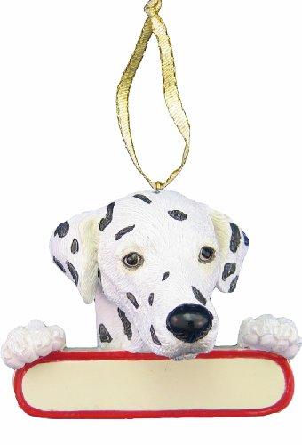 "Dalmatian Ornament ""Santa"