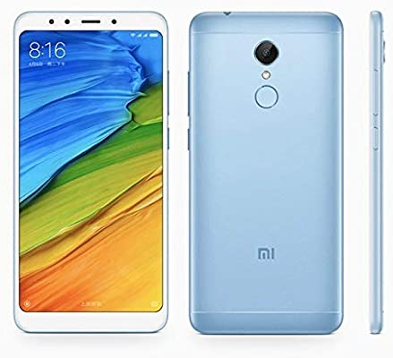 Xiaomi Redmi 5 Dual SIM - 32GB, 3GB RAM, 4G LTE, Blue