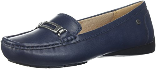 LifeStride Women's Viana Driving Style Loafer Navy