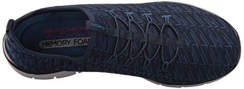 Skechers Frauen Flex Appeal 2.0 Insight Sneaker Navy blau